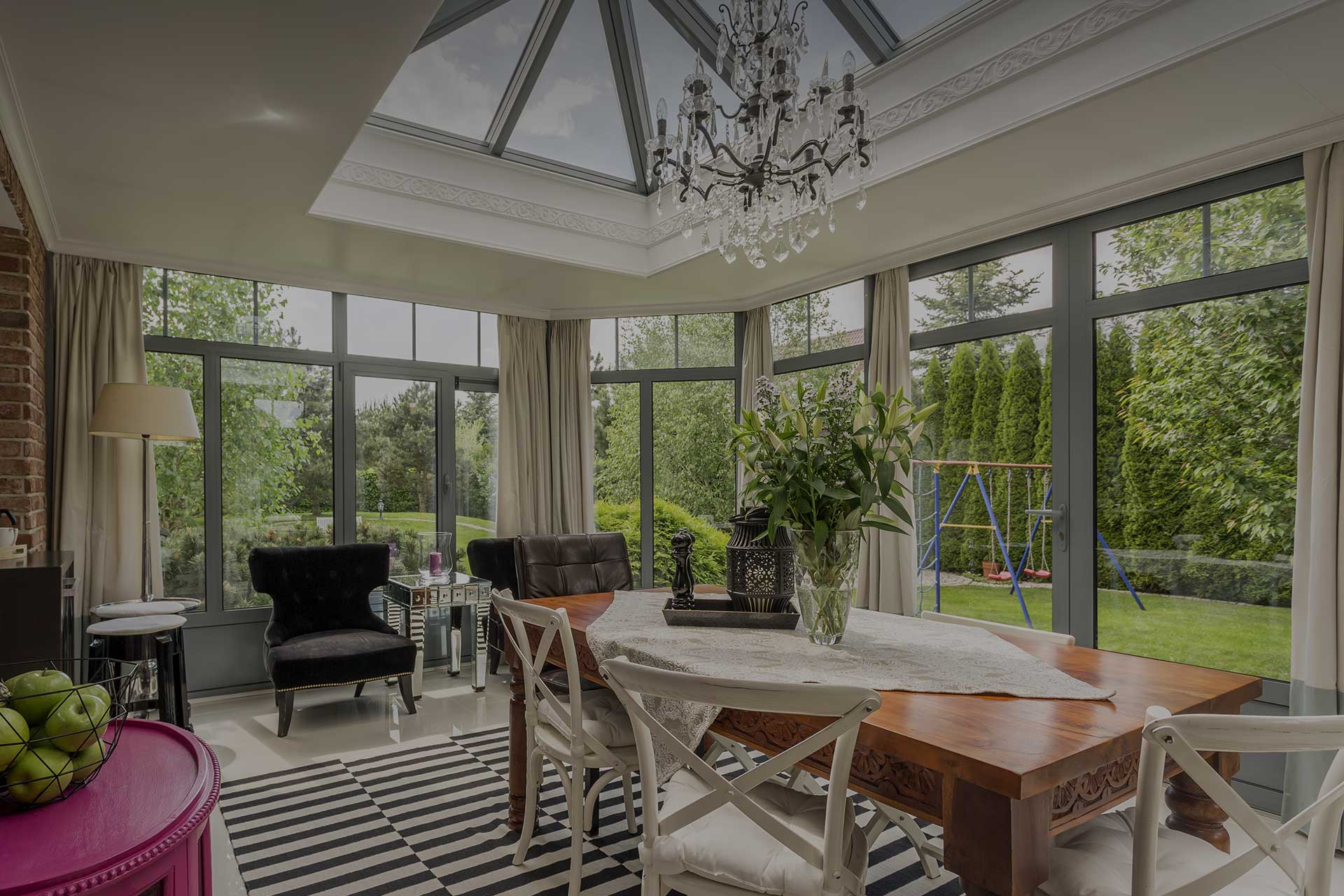 orangeries and conservatories window