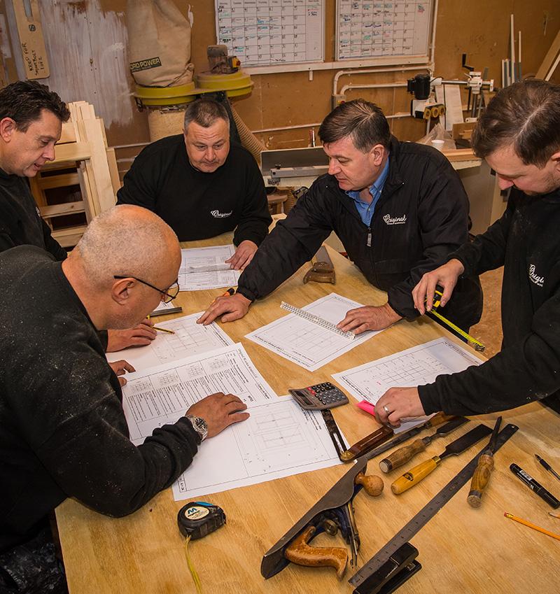 Orginal Wooden Windows Team planning