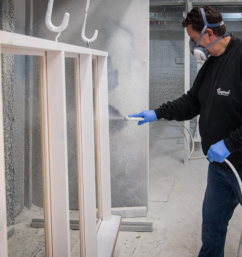 Paint spray coating