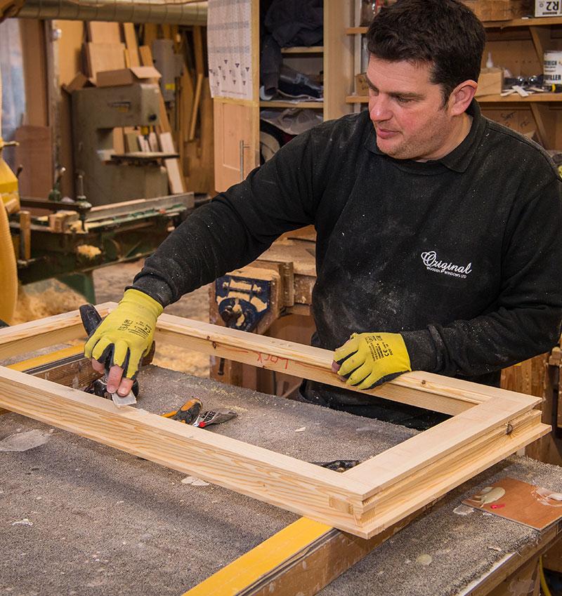 Timber sanding