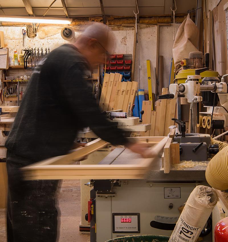 Timber sanding machine